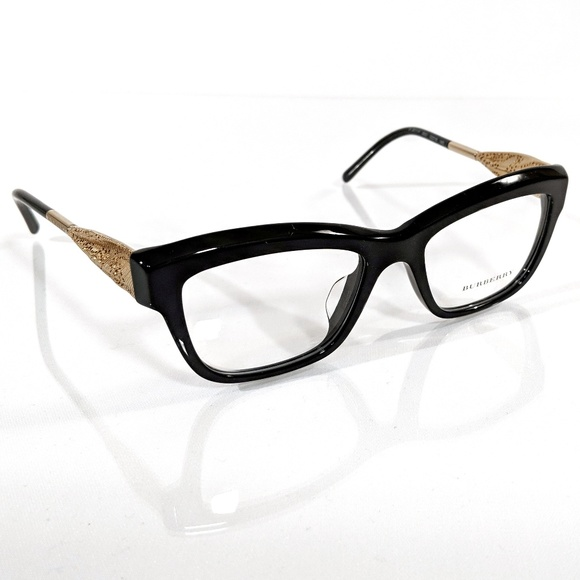8904892b1669 BURBERRY 2211-F Black   Gold Eyeglasses